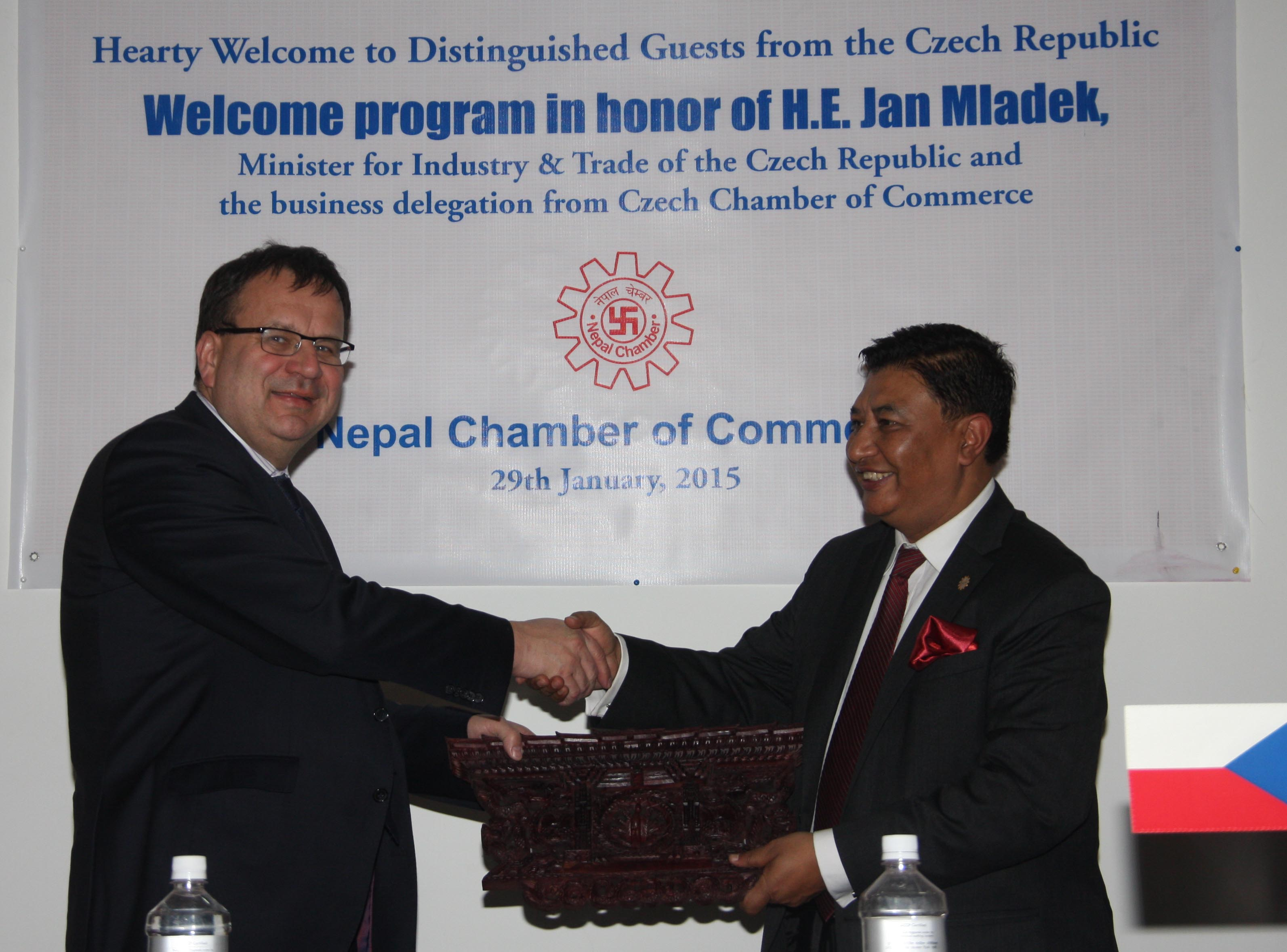MoU Signing Ceremony with Czech Chamber of Commerce