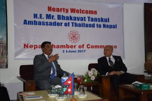 Meeting with Thailand Ambassador Mr. H.E. Bhakavat Tanskul